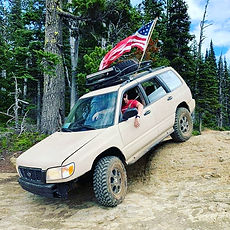 Lifted Subaru Forester by NWSS