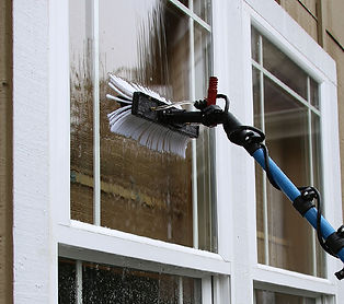 Water Fed Pole Window Cleaning