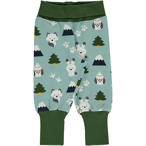 Maxomorra Pants Rib Winter World