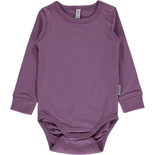 Maxomorra Body dusty purple