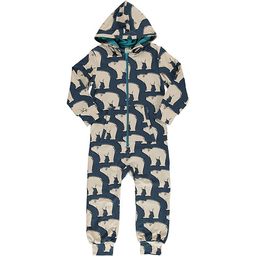 Maxomorra Jumpsuit Polar Bear
