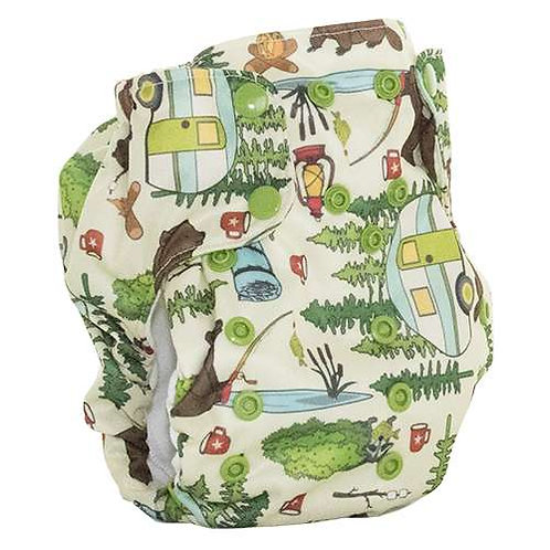 Smart Bottoms Dream Diaper 2.0 Campfire tails