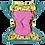 Thumbnail: Pop-In Bambus Stoffwindel V2 (Klett) -Lala & Bugsy (Flamingo)