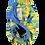 Thumbnail: Pop-In Bambus Stoffwindel V2 (Klett) - Parrot