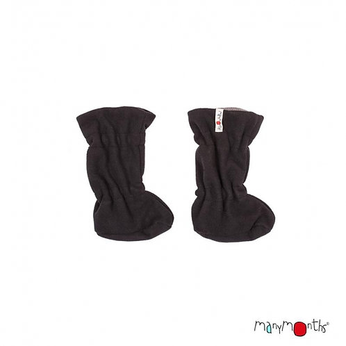 Manymonths adjustable Booties silver cloud