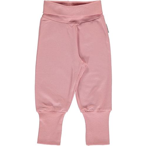 Maxomorra Pants Rib dusty pink
