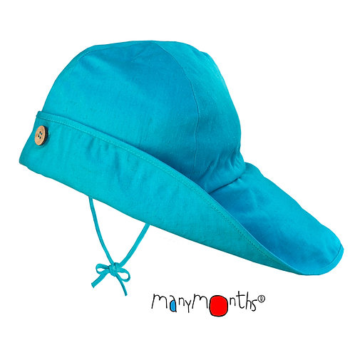 ManyMonths Sommerhut blue Gr. 104- adult