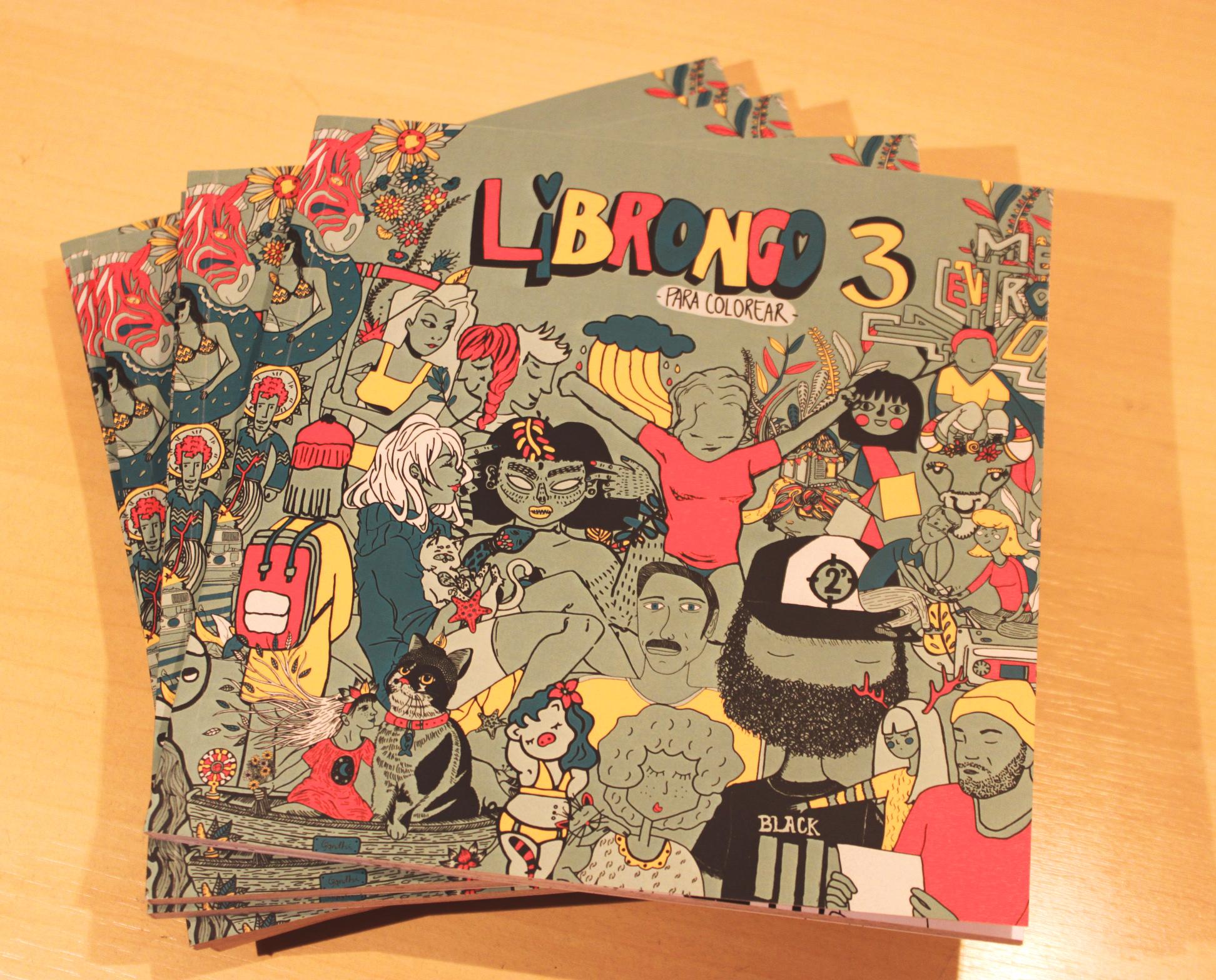 Libro para colorear LIBRONGO