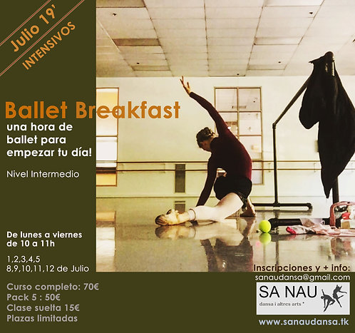 INTENSIVO BALLET BREAKFAST