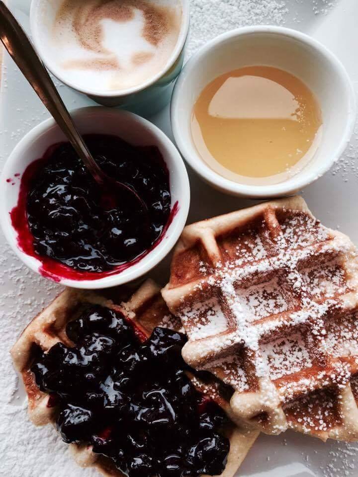 Waff'love śniadanie