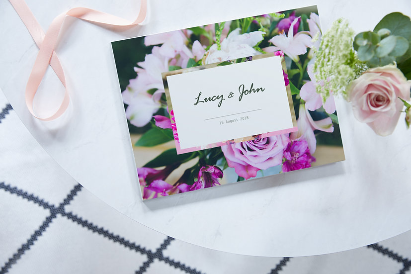 A3 Layflat Wedding Book