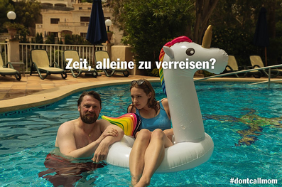 ADAC Don't Travel With Mom Campaign