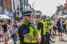 Essex Polie keep the peace