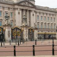 Buckingham Palace during lockdown