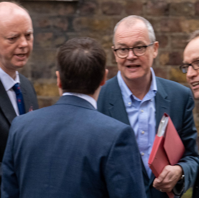 Professor Chris Whitty (left) and Sir Patrick Vallance, Chief Scientifc Adviser in Downing Street