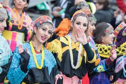 Pakistani dancers