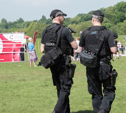 Armed officers from Essex Police
