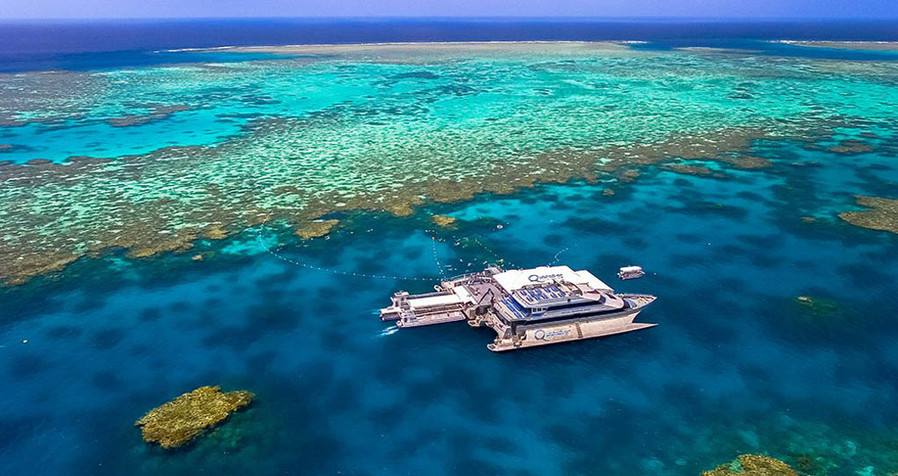 Quick Silver Outer Barrier Reef Platform