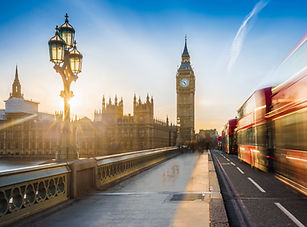 London, England - The iconic Big Ben and