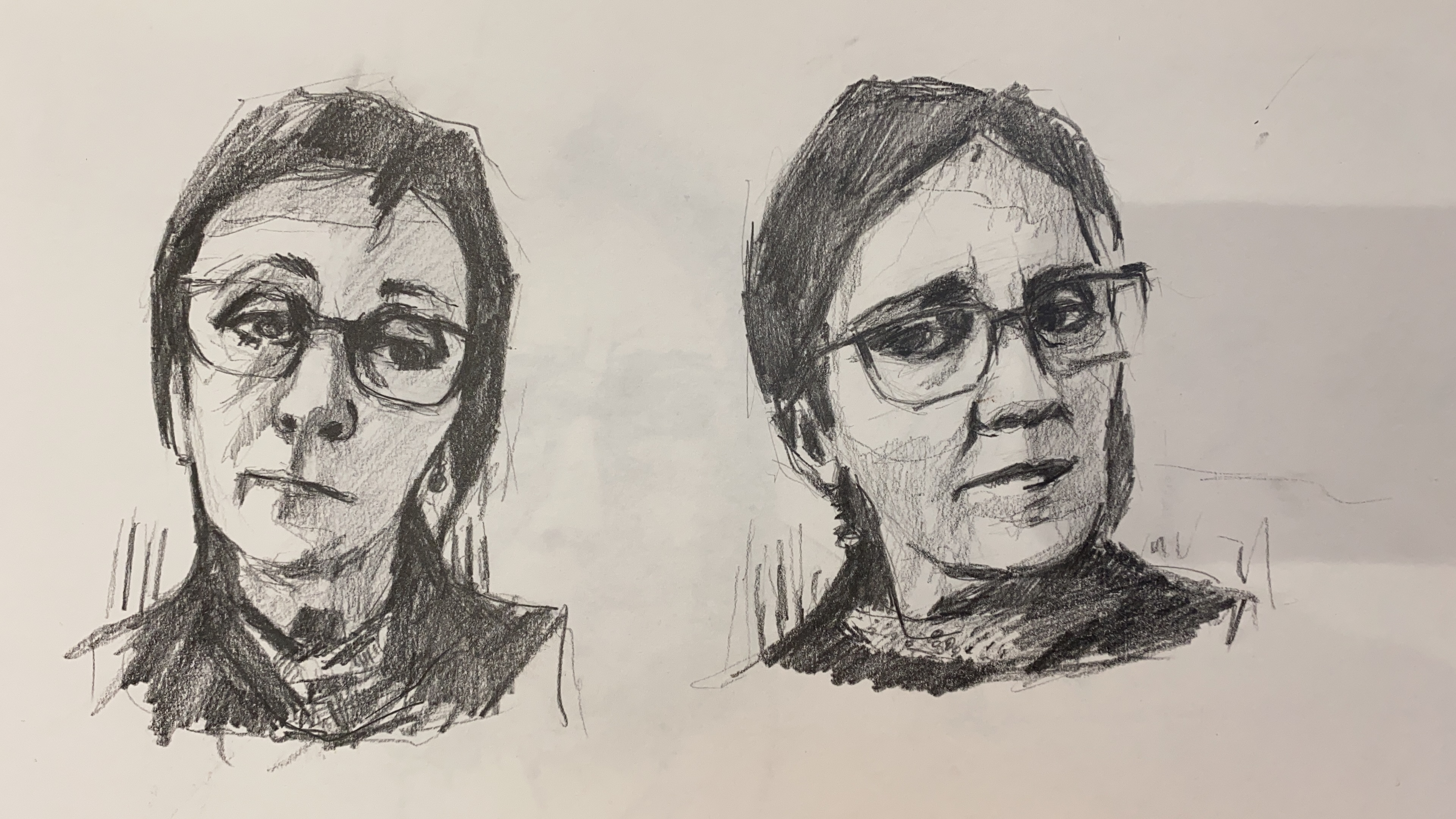 Self portrait studies