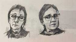 Self portrait studies