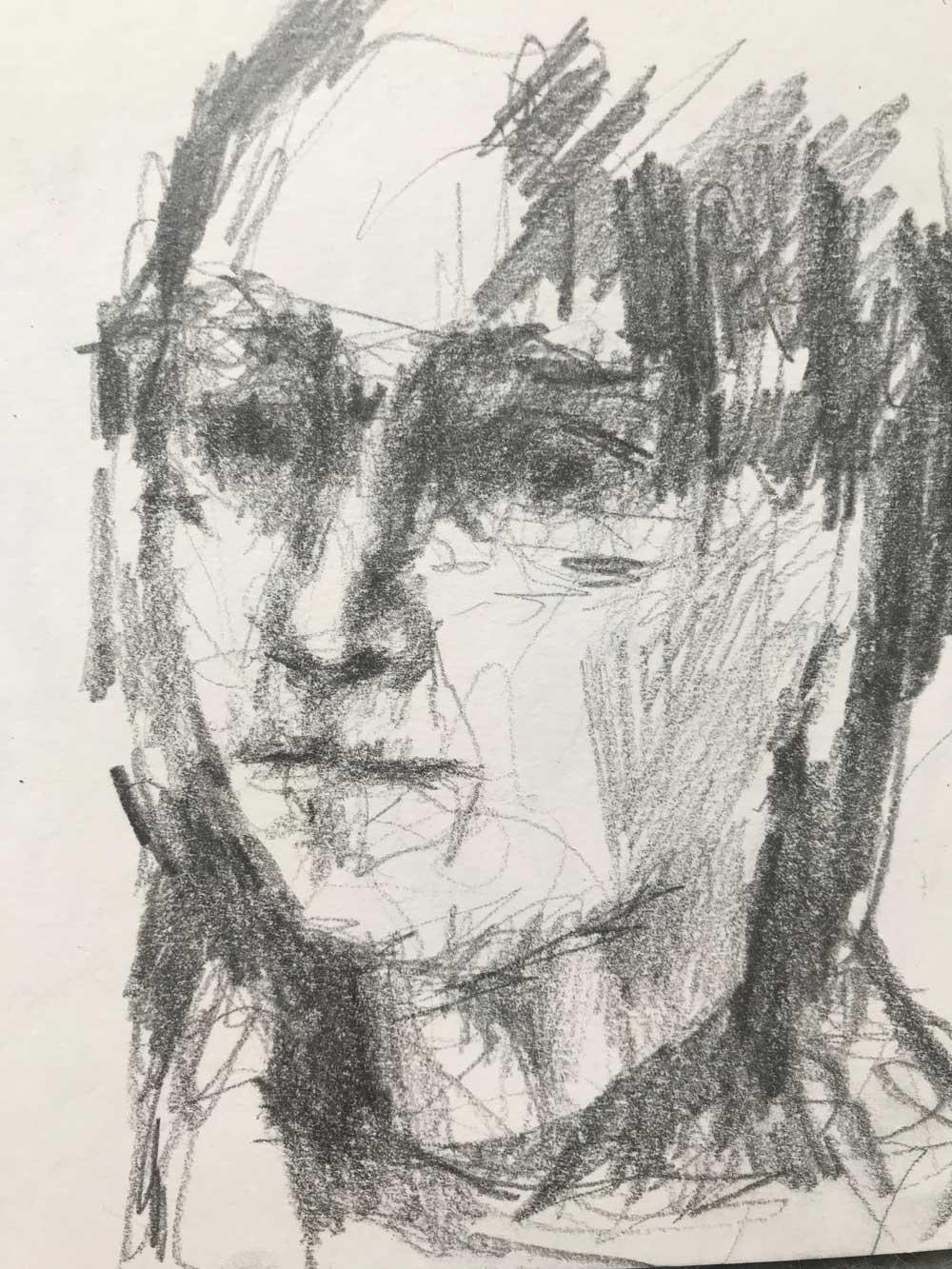 selfie-sketch