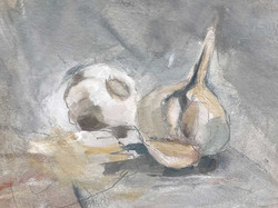 A hint of garlic