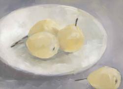 Golden pears