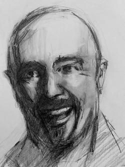 Raw Umber portrait