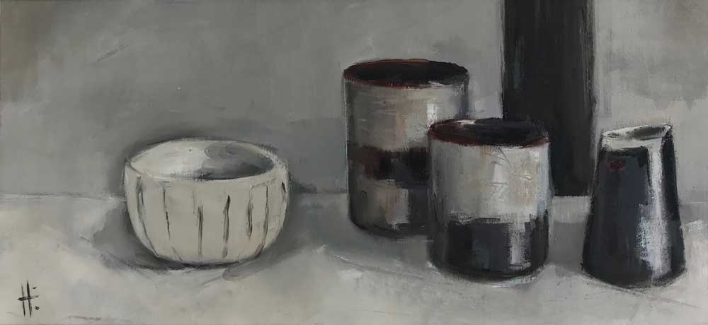 Pots and stripes