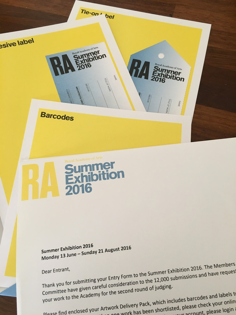 RA Shortlist