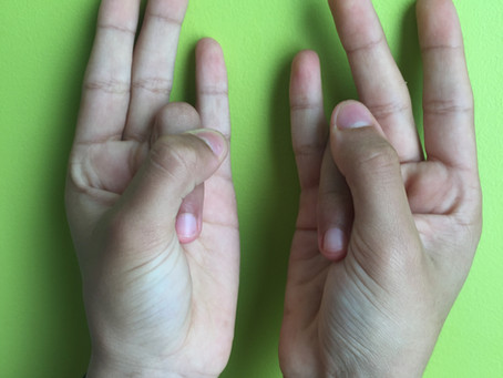 Surya Mudra - Stimulate the thyroid and enhance the weight loss, improve eyesight.