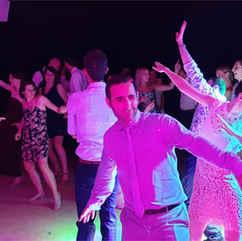 Partie dansante de la soirée