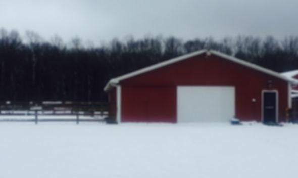 Main Barn of Rusted Star Ranch
