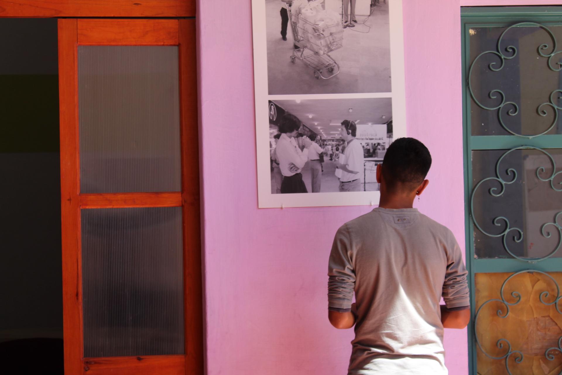 Exposición de foto permanente