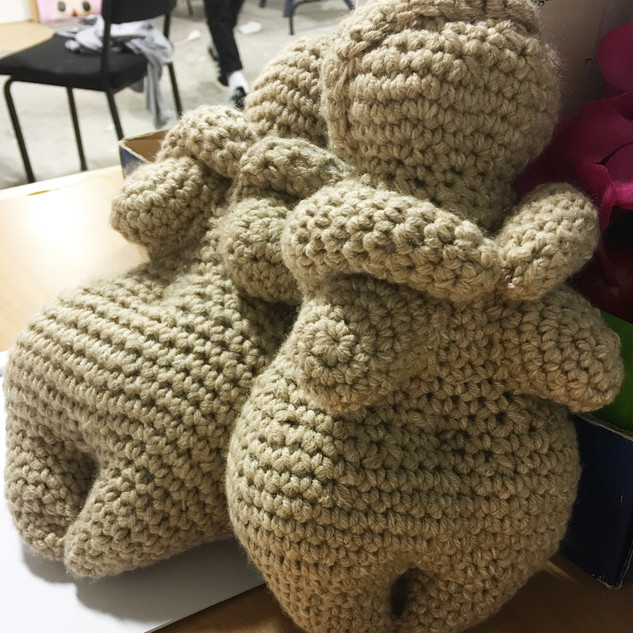 Crochet Willendorf of Venus