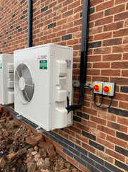 Domestic air con for new build house
