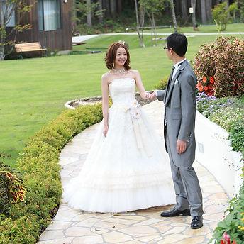 結婚写真 ロケーション撮影 白馬