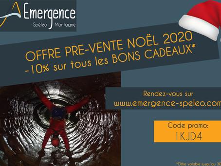Offre pré-vente Noël 2020