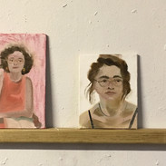 20 minute portraits in oil