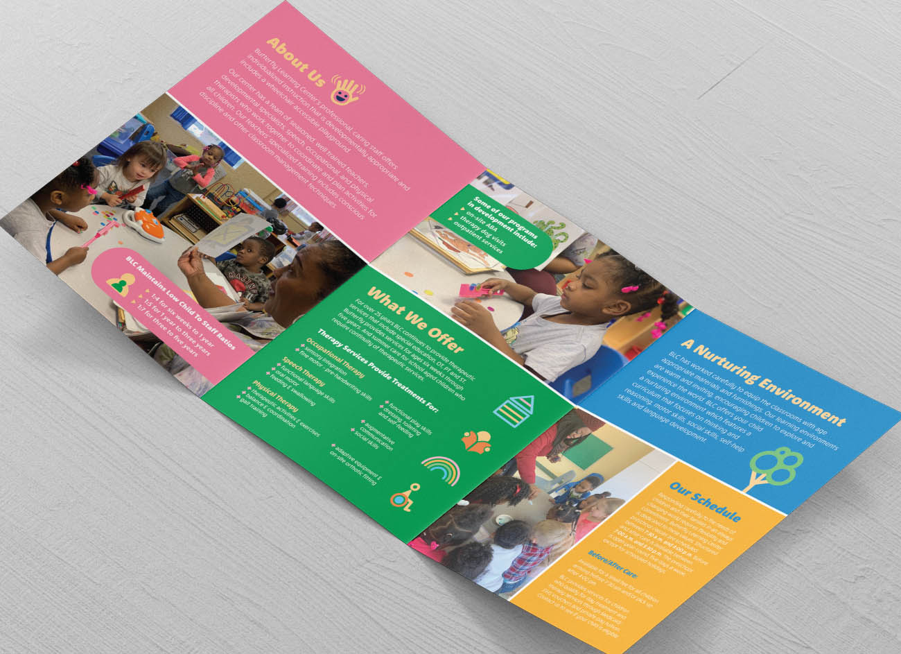 Butterfly Learning Center Brochure