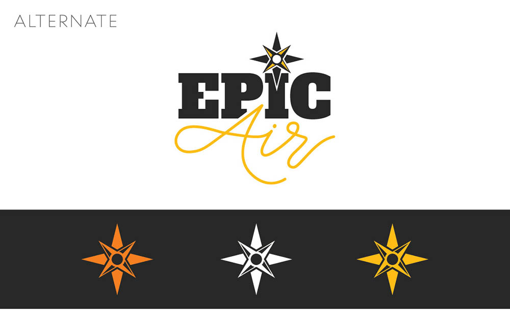 Alternate Epic Air Logo