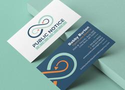 Public Notice Agency Business Card