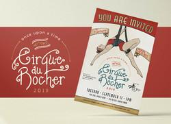 Initivation & Logo Design for Cirque du Rocher
