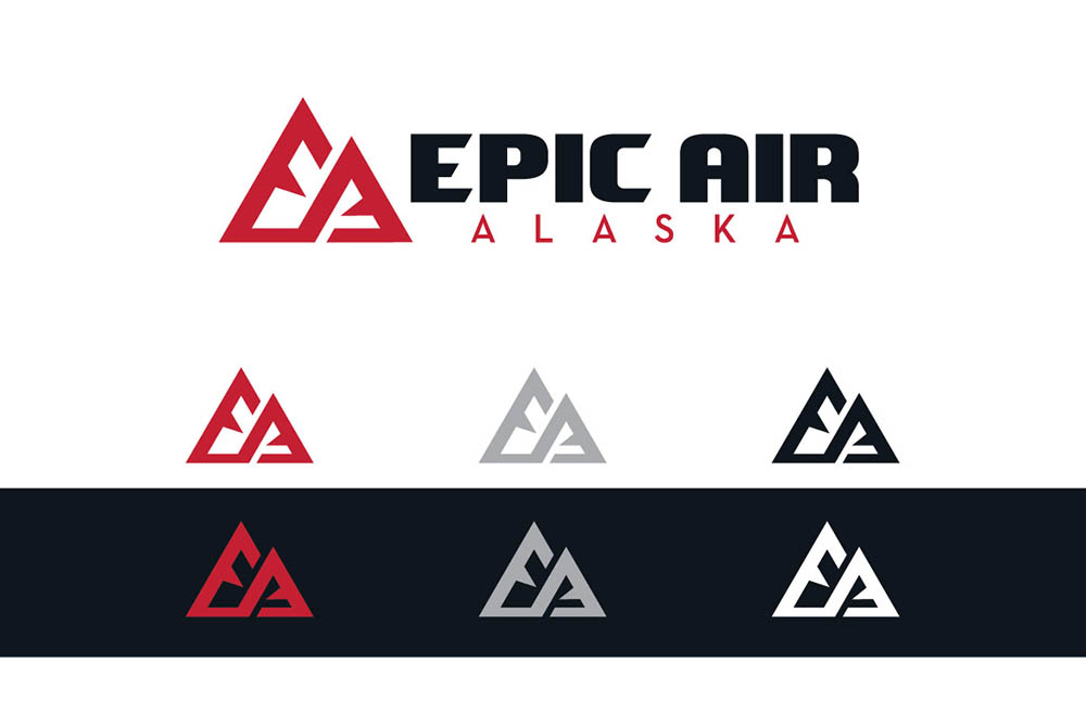 Epic Air Horizontal Logo and Icon
