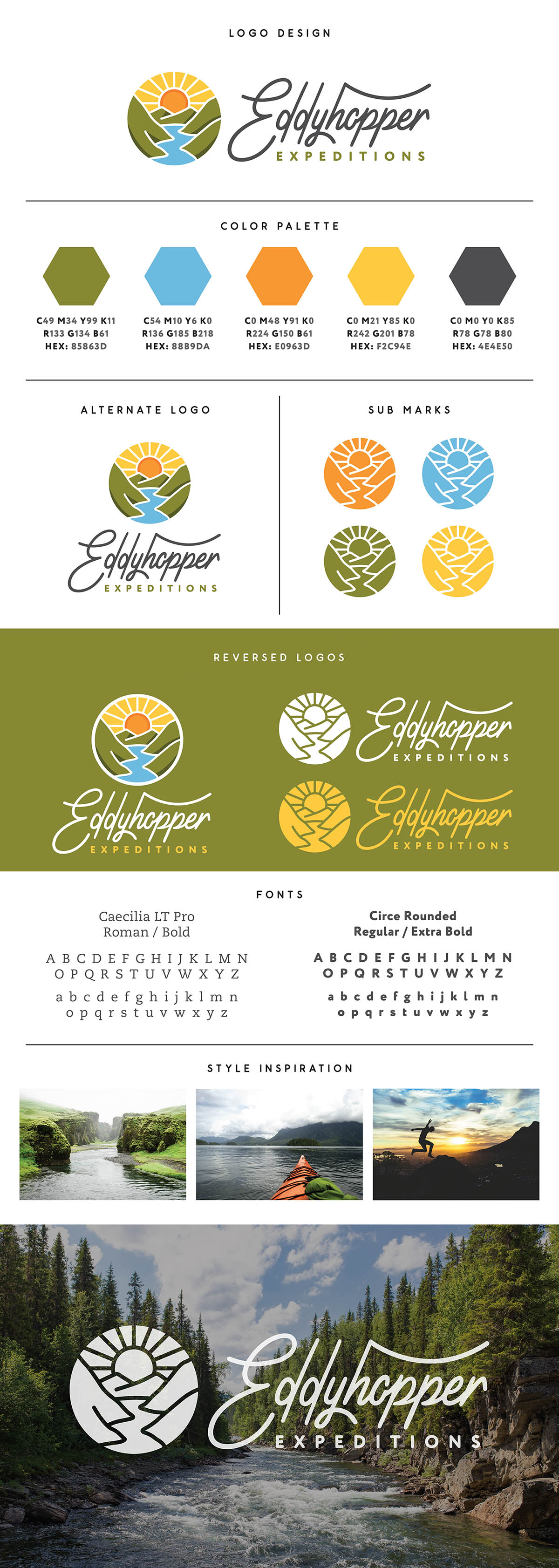 Eddyhopper Expeditions Branding