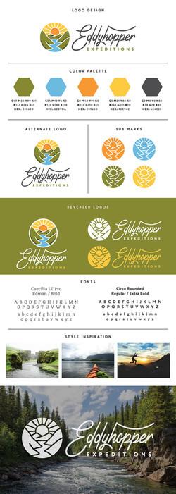 Eddyhopper Expeditions Branding