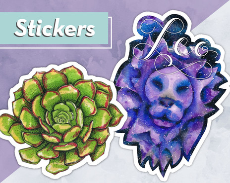 Fun Art Stickers