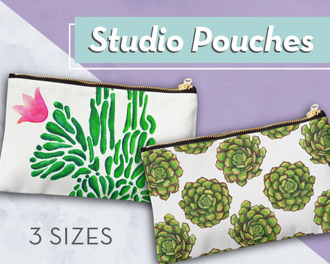 Studio Pouches and Bags