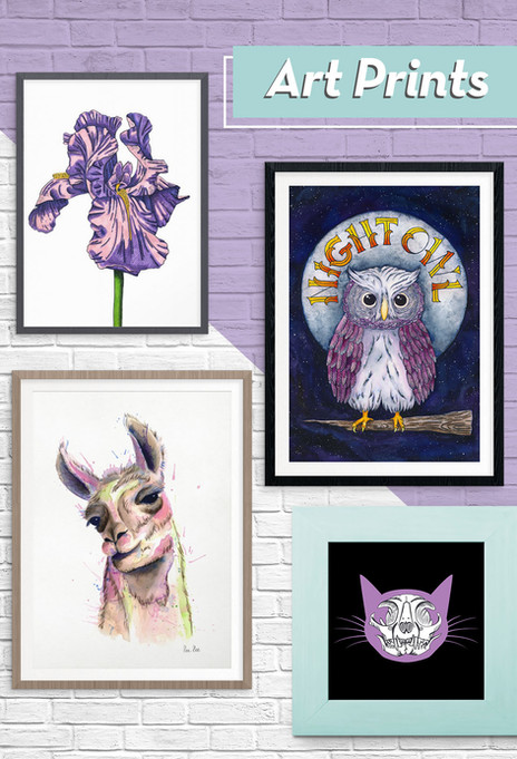 Art Prints by Lee Lee Arts